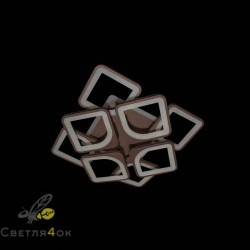 Люстра светодиодная 5543/4-4S LED 3 COLOR