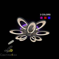 Светодиодная люстра 8889-6+3 LED