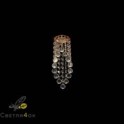 Хрустальный светильник A030 WH+FGD