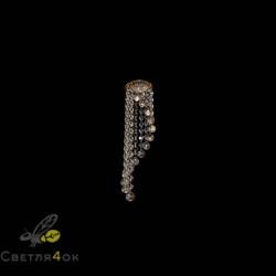 Хрустальный светильник A1185 WH+AM+FGD