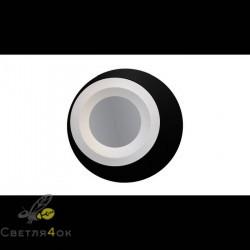 Светильник 160E BK+WH