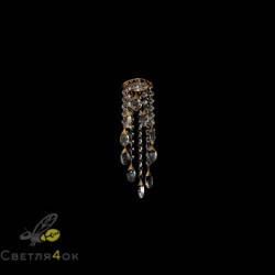 Хрустальный светильник A974 WH+FGD