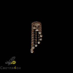 Хрустальный светильник A1181 AM+FGD