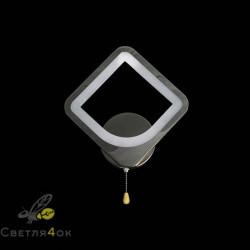 Бра 2511-1 Черный хром