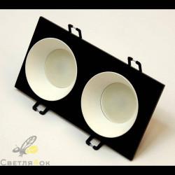 Врезной светильник 160B-37-1BK-WH