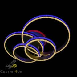Люстра светодиодная 55042-2-2 RGB