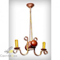 Светильник деревянный 0105