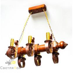 Светильник деревянный 0108