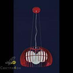 Светильник 7076126-3 красный