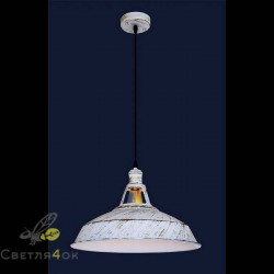 Светильник стиль Лофт 746WXA051-1 WH+GD