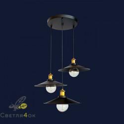 Светильник Лофт 752PB9-3 BK (300)