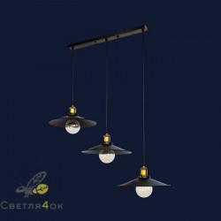 Светильник Лофт 752PB9-3 BK (500)