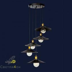 Светильник Лофт 752PB9-5 BK(300)