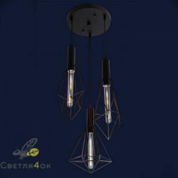 Светильник LOFT 761ST10-3 BK