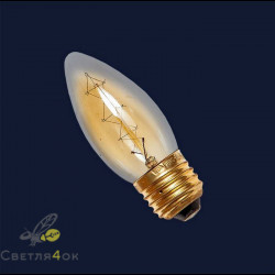 Лампа Эдисона E27 С35-40W