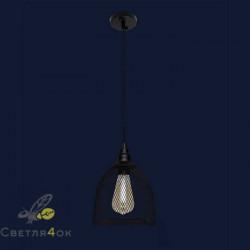 Лофт светильник 707P144F-1 BK