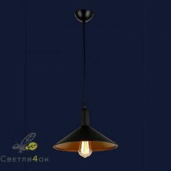 Светильник 7546412-1 BK+GD