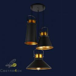 Светильник 7546600-3 BK+GD