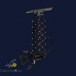 Прожектор лофт 75224 BK (трек)
