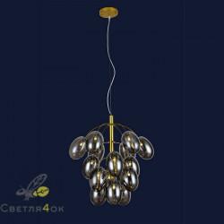 Люстра Лофт 756LPR0245-15 GD+BK