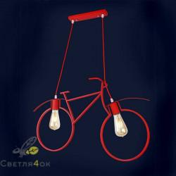 Светильник велосипед 756PR7021-2-Red