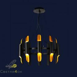 Светильник 756PR0912-10 BK GD