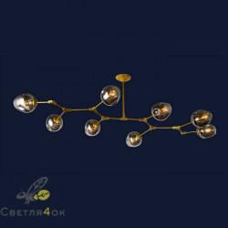 Люстра 756LPR0231-8 GD+BK