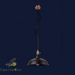 Светильник Лофт 7526857F-1CM BK(270)