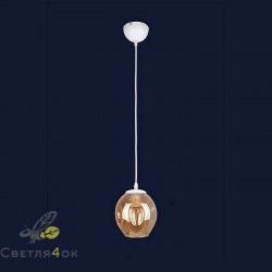 Светильник Лофт 756PR0231F-1 WH+BR