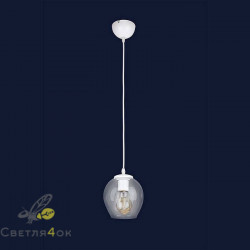 Светильник Лофт 756PR0231F-1 WH+CL