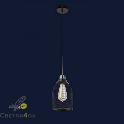 Светильник Лофт 907008F-1 BK