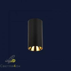 Светильник 90580COB-10W BK-GD