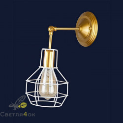 Бра Лофт 707W116F-1 GD+WH