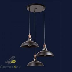 Светильник Лофт 7526857F-3M BK (300)