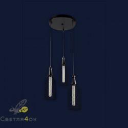 Светильник Лофт 907003F-3 BK (300)
