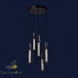 Светильник Лофт 907003F-5 BK (300)
