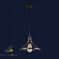 Светильник Лофт 907009F-1 BK