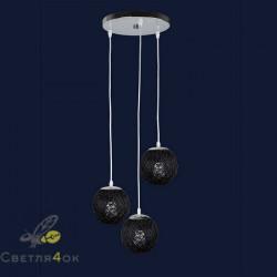 Подвесной Светильник 9711503-3 BK