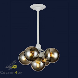 Светильник Лофт 756PL385-5 WH+BK