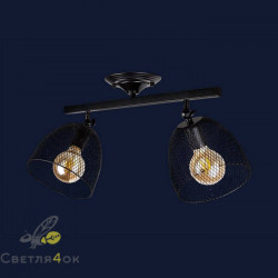 Светильник Лофт 907X013F-2 BK