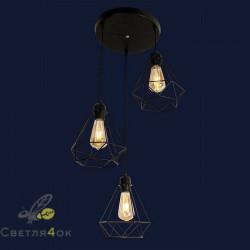 Светильник Лофт 909XL1335-3 BK