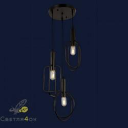 Светильник Лофт 761YG03-3 BK