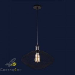 Светильник Лофт 907016F-1 BK