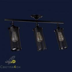 Светильник Лофт 907X012F-3 BK