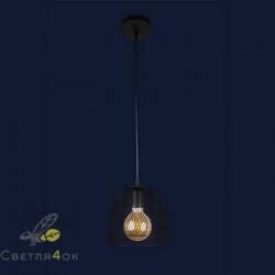 Светильник Лофт 907013F-1 BK
