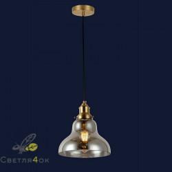 Светильник подвесной лофт 91602-1 BK