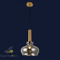 Светильник подвесной лофт 91624-1 BK