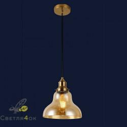 Светильник подвесной лофт 91602-1 BR