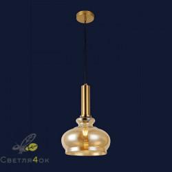 Светильник подвесной лофт 91624-1 BR