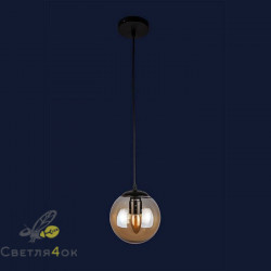 Светильник Лофт 756PR150F-1 BK+BR